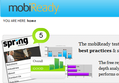 mobiready11 20 sites to create/optimize website for mobile phone users
