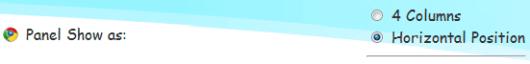 Google Toolbar Display Style