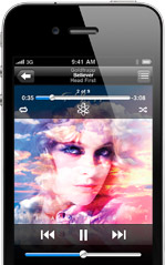 iPhone4 Music1 100+ Cool new features of iPhone 4