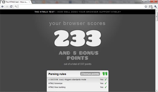 Chromium 7 HTML 5 Test1 7 Notable Changes in Chromium 7!