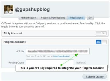 Cotweet Pingfm Integration1 10 ways to schedule Facebook status updates