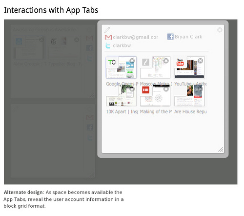 Tab Candy Space Control11 Tab Candy   Firefox's Next Big Innovation