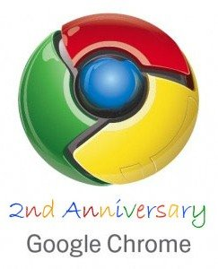 Google Chrome 2 anniversary1 Google Chrome Turns 2 : A Brief Flashback