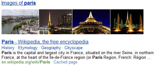bing search result paris Paris Goes Missing In Google Search!