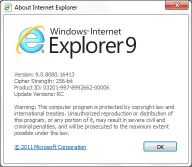 ie9 rc update image IE9 To Get Automatic Update Feature Like Chrome & Firefox!