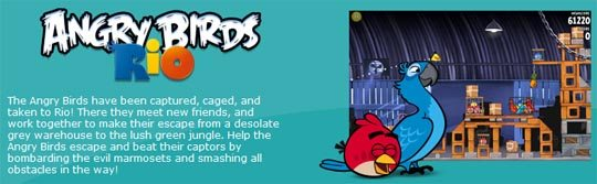 angry birds rio image1 Official: Rovio Releases Angry Birds For Windows 7, XP and Vista!