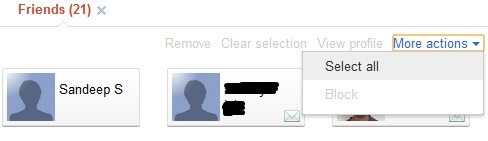 google+ circle select option How to : Clone a Circle in Google+