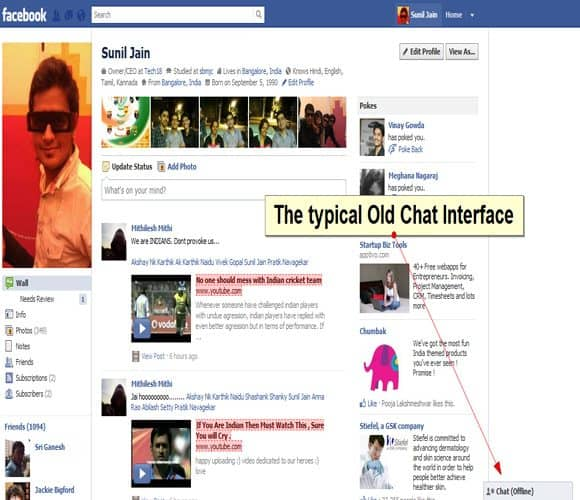 Facebook Old Interface styl How to Tackle Facebooks New Interface