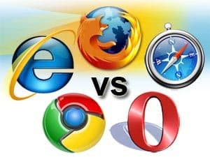 Browser war image First Time in History   Chrome Loses Browser Market Share!