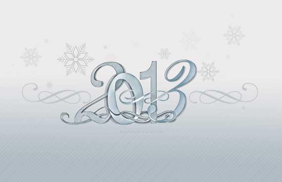 2 60+ Best Free 2013 New Year Desktop Wallpapers!