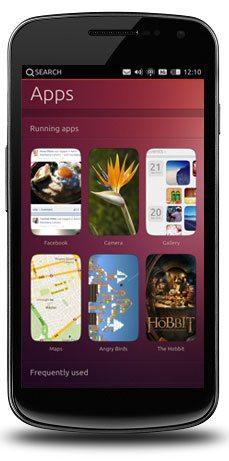 2 Ubuntu for phones homescreen 10 Promising Features Of Ubuntu For Phones OS