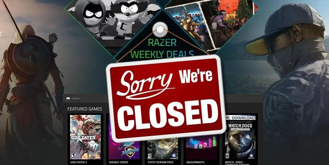 Razer Game Store Closing Permanently February 28th