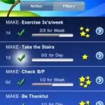 Healthy Habits iphone app