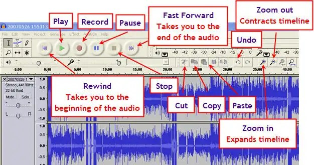 audacity ringtone maker