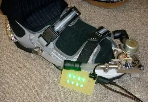 An Hydro Power Walking Shoe