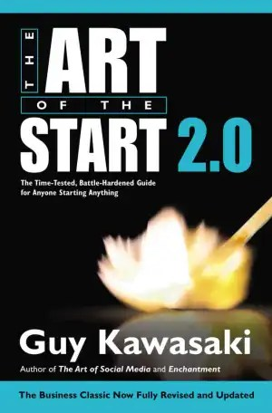 Giveaway Free The Art of the Start by Guy Kawasaki