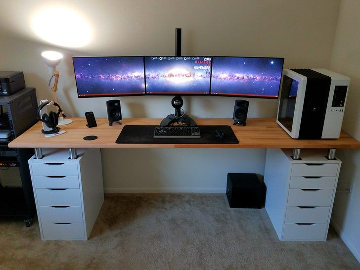 Ikea Karlby Desk What Are The Benefits Of Owning A Best Gaming Desk? - Techavy
