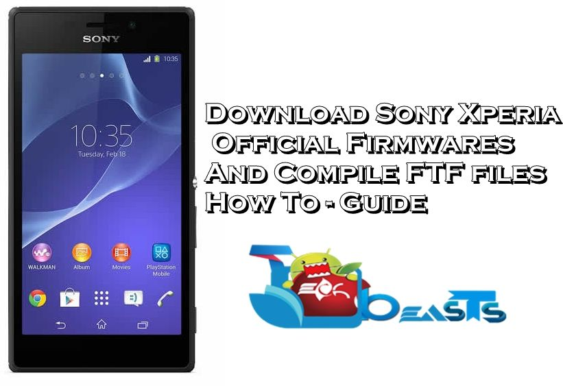 Download Firmware FTF Xperia J