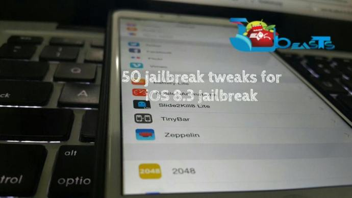 50 Jailbreak Tweaks for iOS 8.3