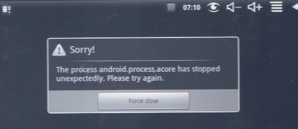 fix android.process.acore has stopped