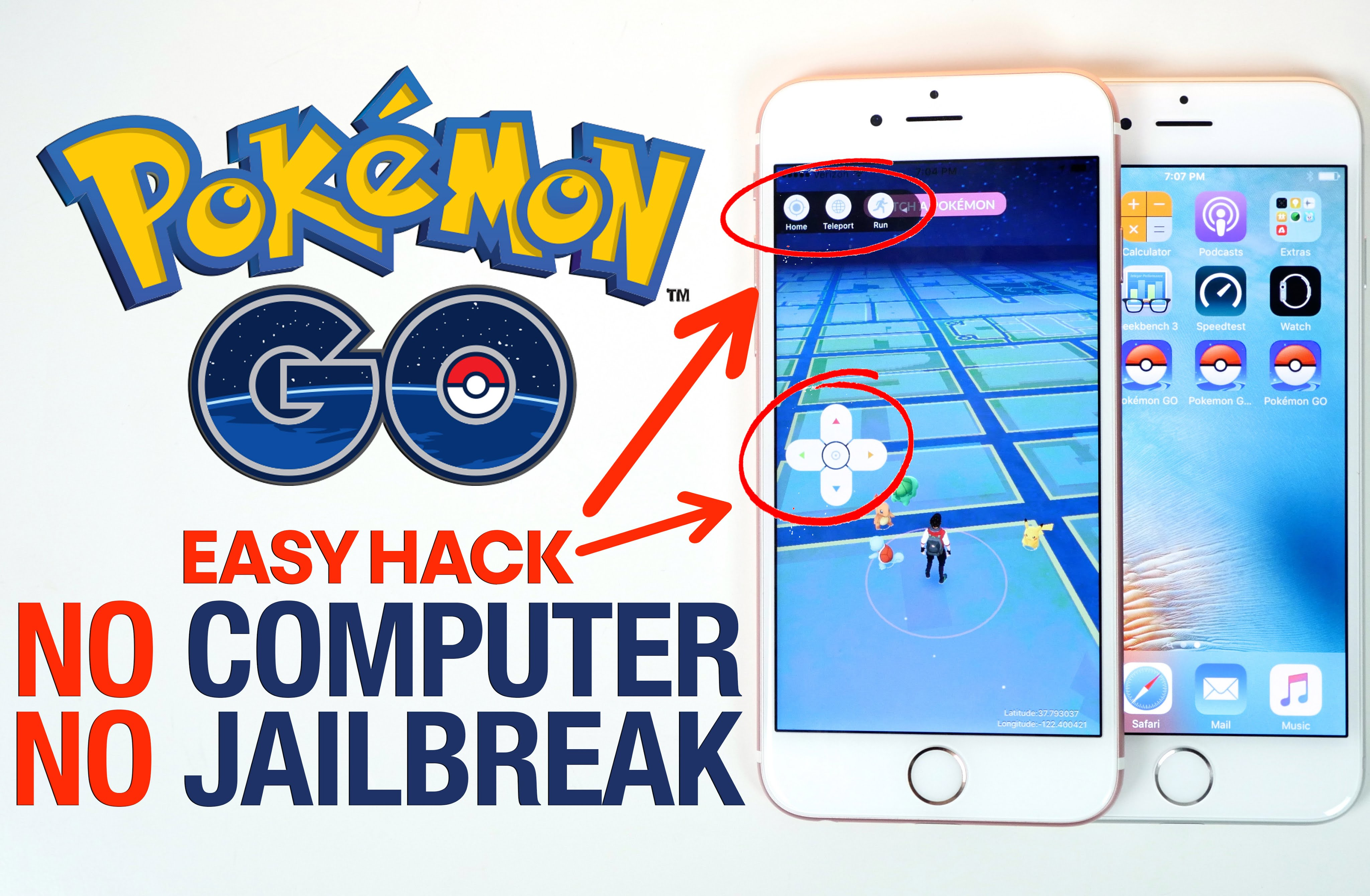 Download Pokemon Go++ 1.11.4 Hacked IPA On iPhone Without ...