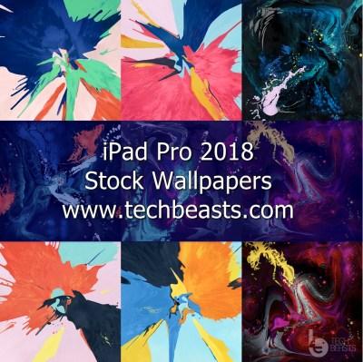 Download Stock Apple iPad Pro 2018 Wallpapers | TechBeasts