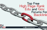 Top Free High Page Rank .Edu and .Gov Backlinks List 2017