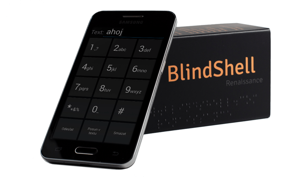 Blind Shell, a Cell Phone for Visually-Impaired People