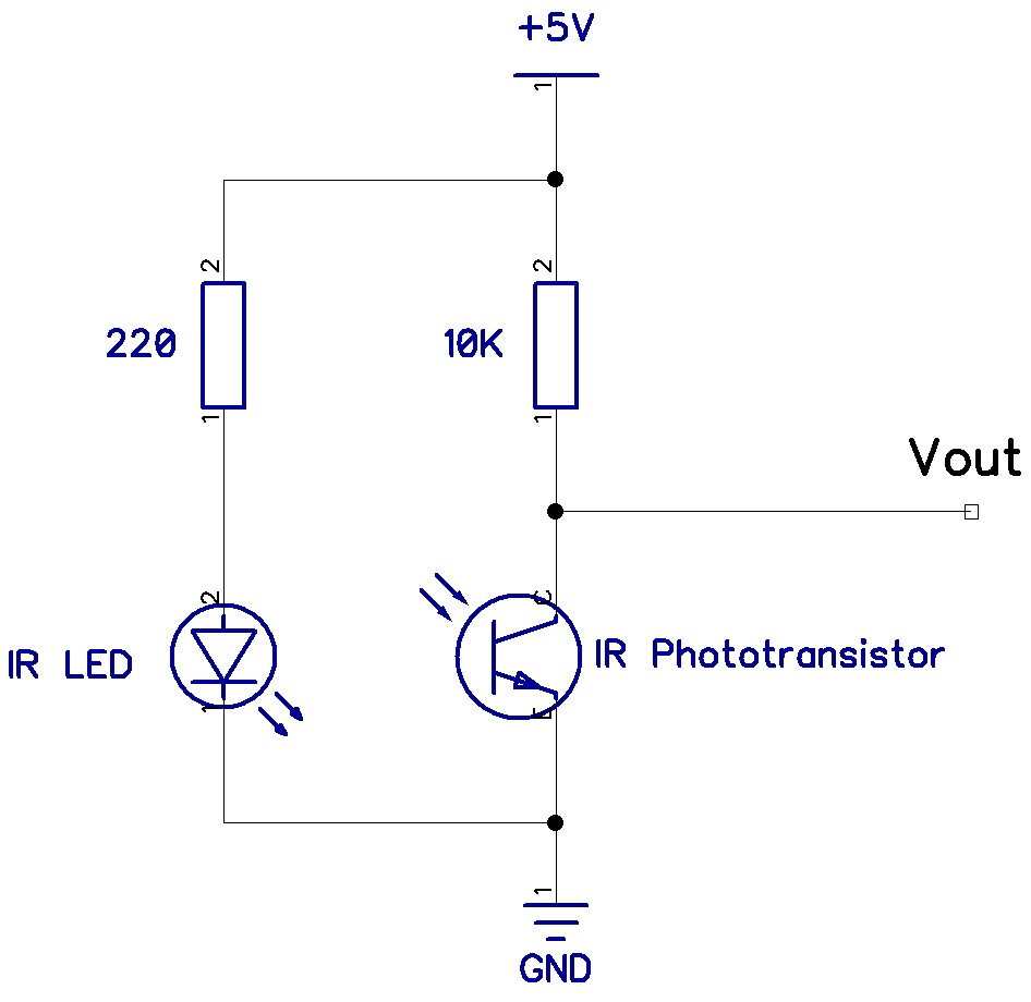 phototransistor circuit diagram