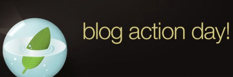 Apparently today is Blog Action day