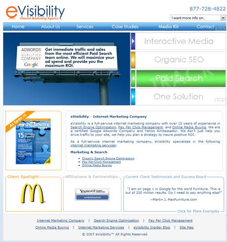 Site Review: eVisibility.com