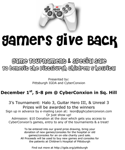 Gamers Give Back in Pittsburgh