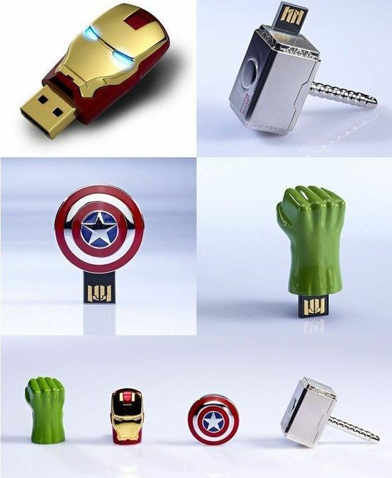 """The Avengers"" – Flash Drives"