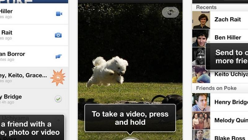 Does the Facebook Poke app mean safer sexting?