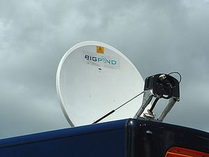 300px Bigpond internet Satellite1 The expanding capabilities of broadband Internet in rural areas