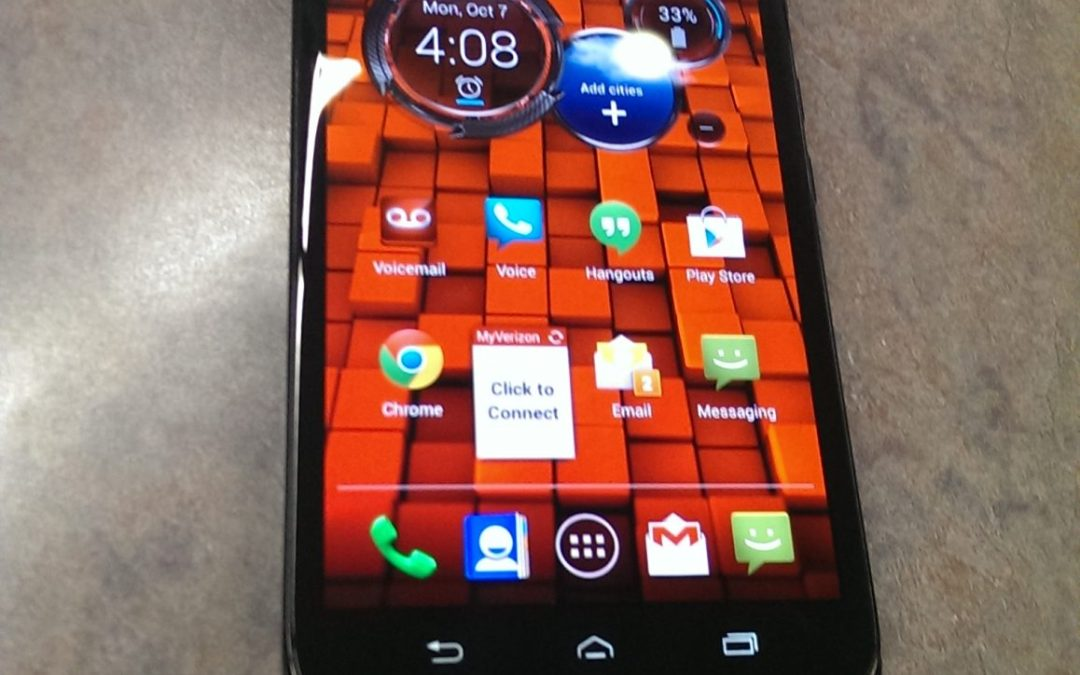 Hands On: Motorola Ultra For Verizon Wireless