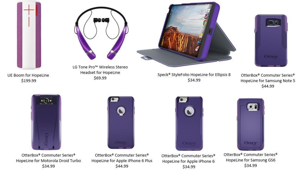 HopeLine® from Verizon Encourages Consumers to Go Purple in Support of   National Domestic Violence Awareness Month
