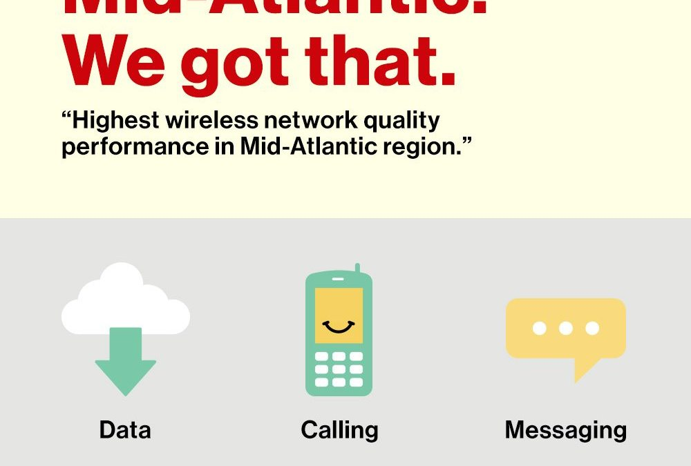 J.D. Power ranks Verizon Wireless highest in network quality in Mid-Atlantic