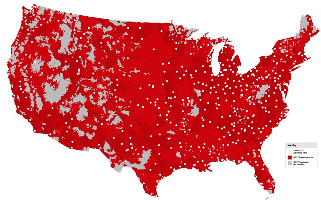 Mobile users in 461 cities today get 50% faster peak speeds at no extra cost. Introducing Verizon LTE Advanced.