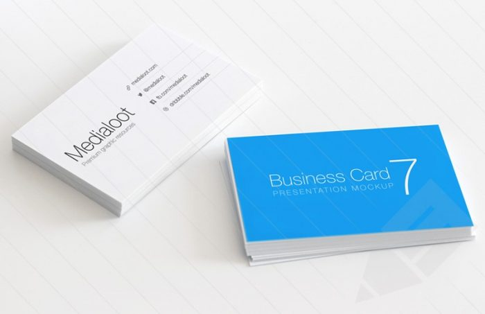 Card Mockup High Quality 60+ Best Free High-quality Psd Business Card Mockups