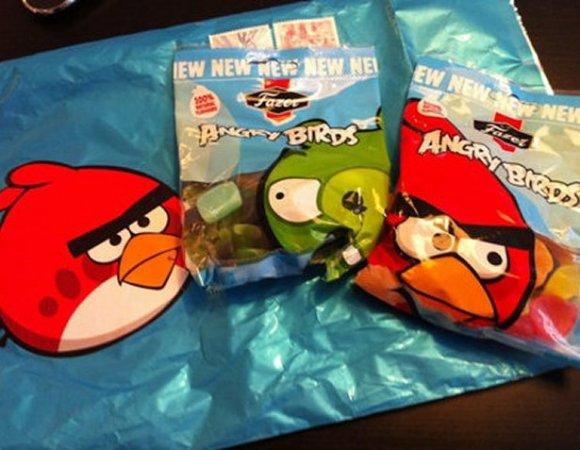 Τα ζαχαρωτά Angry Birds