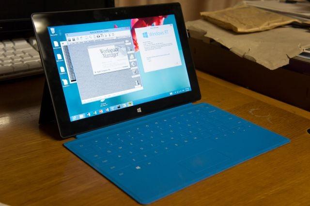 Rhapsody OS on Surface