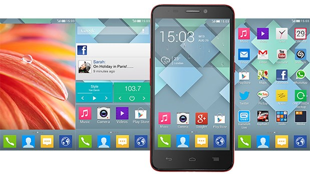 Alcatel One Touch Idol hed