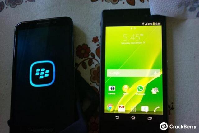 BlackBerry Z30 leak