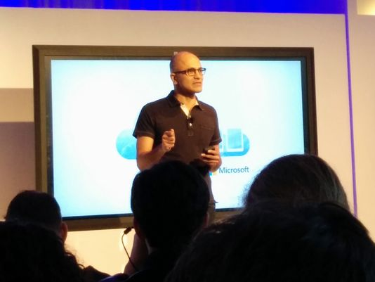 Nadella Announces Office for iPad