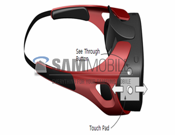 Samsung Gear VR render leak