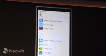 Windows 10 for phones Recent apps