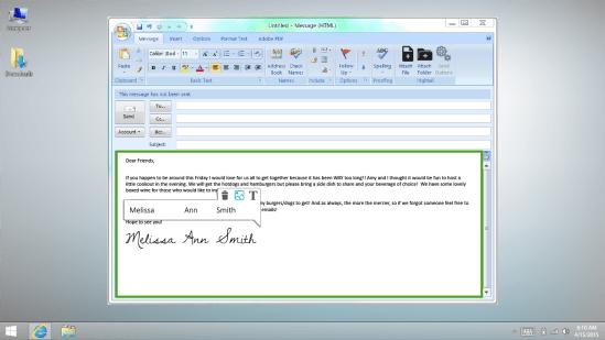 Lenovo WRITEit Screenshots 01