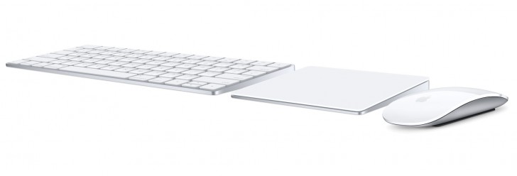 Apple Keyboard, Magic Trackpad, Magic Mouse 2015