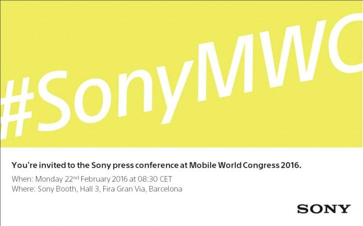 Sony MWC 2016 press event